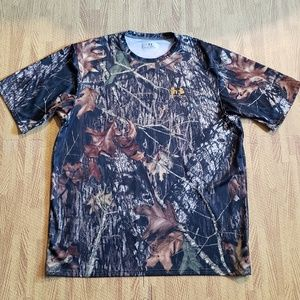 Under Armour HeatGear Mossy Oak Camouflage Shirt